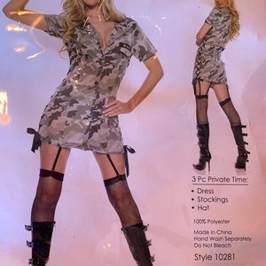 Army Costume 3 piece set